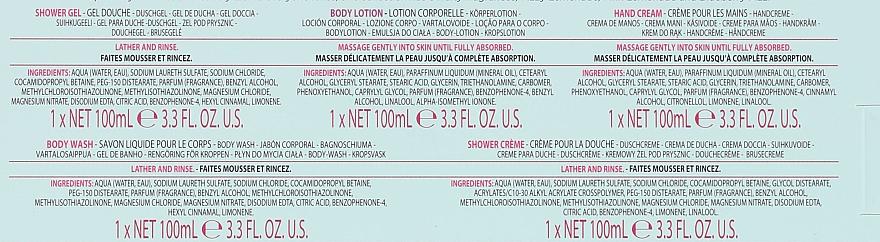 Set - Baylis & Harding Beauticology Bathing Treats (h/cr/100ml + sh/gel/100ml + b/lot/100ml + soap/100ml + sh/cr/100ml) — Imagine N8