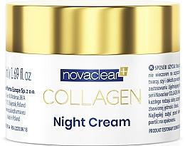 Parfumuri și produse cosmetice Cremă cu colagen, de noapte - Novaclear Collagen Night Cream