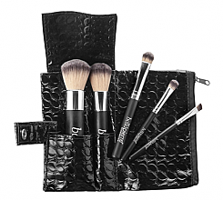 Set pensule pentru machiaj - Bellapierre 5 Pcs Travel Brush Set — Imagine N1