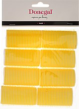 Parfumuri și produse cosmetice Bigudiuri Velcro, 32 mm, 8 buc. - Donegal Hair Curlers