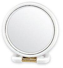 Parfumuri și produse cosmetice Oglindă cosmetică, 5046, albă - Top Choice