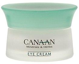 Cremă pentru conturul ochilor - Canaan Minerals & Herbs Eye Cream — Imagine N2