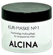 Mască tratament pentru păr deteriorat - Alcina Hare Care Kur-Maske №1 — Imagine N1