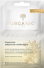 Parfumuri și produse cosmetice Mască hidratantă și relaxantă pentru față - Organic Lab Nourishing and Relaxing Face Mask
