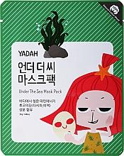 Parfumuri și produse cosmetice Mască țesut de întărire cu extract de alge marine - Yadah Under The Sea Mask Pack