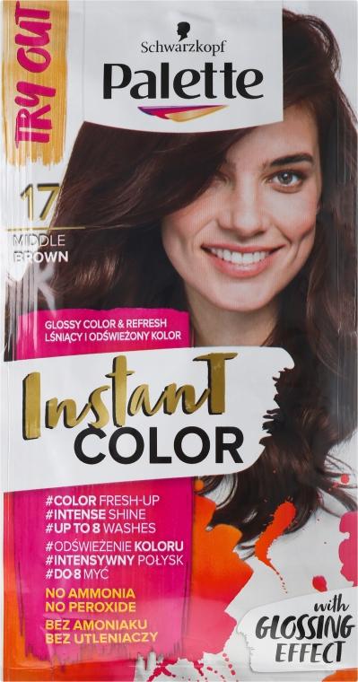 Șampon nuanțator pentru păr fără amoniac - Schwarzkopf Palette Instant Color