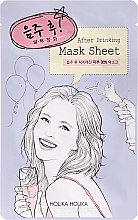 "Mască din țesătură ""După petrecere"" - Holika Holika After Mask Sheet After Drinking — Imagine N1"