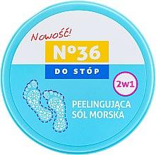 Parfumuri și produse cosmetice Peeling cu sare de mare pentru picioare 2în1 - Pharma CF No.36