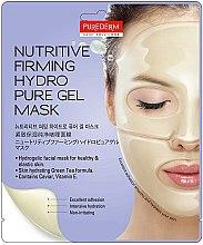 Parfumuri și produse cosmetice Mască nutritivă cu hidrogel pentru față - Purederm Nutritive Firming Hydro Pure Gel Mask
