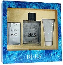 Parfumuri și produse cosmetice Bi-Es Max Ice Freshness - Set (edt/100ml + edt/15ml + sh/gel/50ml)