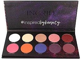 Parfumuri și produse cosmetice Paleta fard de ochi - Ingrid Cosmetics Colors Matt & Glam Palette