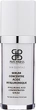 Parfumuri și produse cosmetice Ser de față - Patchness Skin Essentials Hyaluronic Acid Concentrated Serum