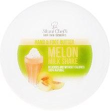 Parfumuri și produse cosmetice Ulei pentru mâini și picioare - Hristina Stani Chef's Hand And Foot Butter Melon Milk Shake