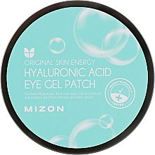 Patch-uri cu acid hialuronic - Mizon Hyaluronic Acid Eye Gel Patch — Imagine N2