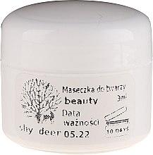 Parfumuri și produse cosmetice Mască de față - Shy Deer Natural Face Mask Beauty (mostră)