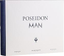 Parfumuri și produse cosmetice Instituto Espanol Poseidon - Set (edt/150ml+ash/balm/150ml+sh/gel/150ml)