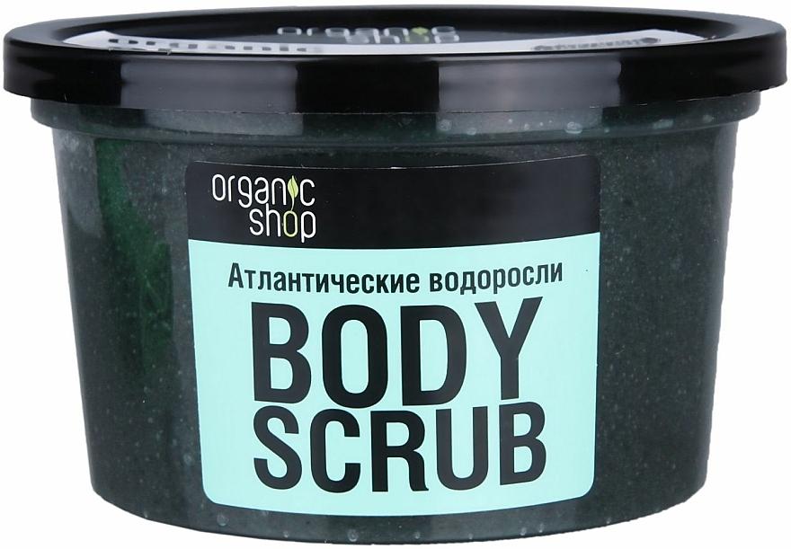 Scrub de corp cu alge marine - Organic Shop Body Scrub Organic Algae & Sea Salt — Imagine N3