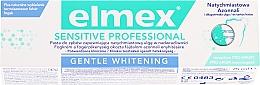 Parfumuri și produse cosmetice Pastă de dinți - Elmex Professional Sensitive Professional Gentle Whitening