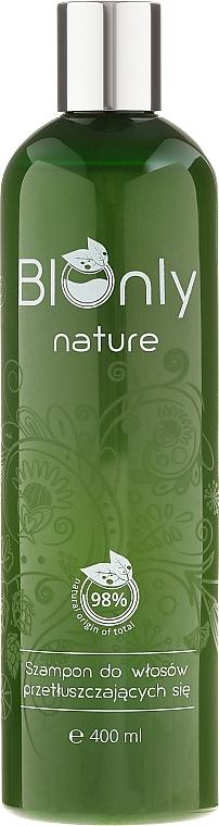 Șampon pentru păr gras - BIOnly Nature Shampoo For Greasy Hair — Imagine N1