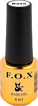 Parfumuri și produse cosmetice Bază pentru gel-lac - F.O.X Base Strong Gel