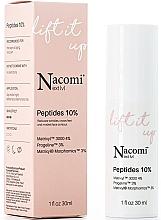 Parfumuri și produse cosmetice Ser cu efect delifting facial - Nacomi Next Level Lift It Up Peptides 10%