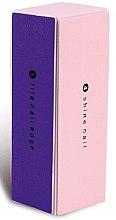 Parfumuri și produse cosmetice Buffer pentru unghii, 9307, roz + violet - Donegal