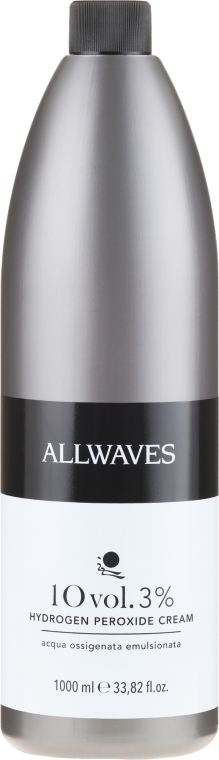 Cremă oxidantă - Allwaves Cream Hydrogen Peroxide 3% — Imagine N3