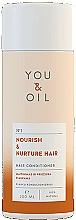 Parfumuri și produse cosmetice Balsam pentru toate tipurile de păr - You & Oil Nourish & Nuture
