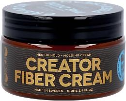 Parfumuri și produse cosmetice Cremă-ceară pentru păr, fixare medie - Waterclouds The Dude Creator Fiber Cream Medium Hold
