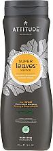 Parfumuri și produse cosmetice Șampon 2 în 1 - Attitude 2-in-1 Sport Care Ginseng & Grape Seed Oil