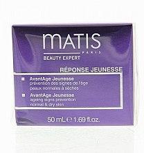 Cremă facială anti-aging - Matis Reponse Jeunesse AvantAge Cream — Imagine N4