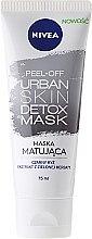 Parfumuri și produse cosmetice Mască matifiantă pentru față - Nivea Urban Skin Detox Peel-Off Mask