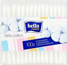 Parfumuri și produse cosmetice Bețișoare din bumbac, 100 buc. - Bella