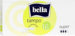 Parfumuri și produse cosmetice Tampoane, 16 bucăți - Bella Bella Premium Comfort Super Tampo