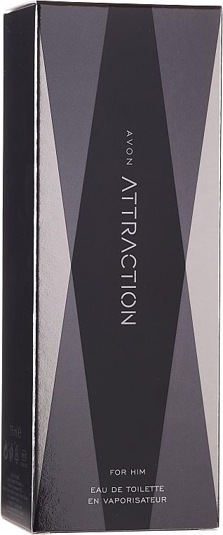 Avon Attraction for Him - Set (edt/75ml + sh/gel/200ml + ash/balm/100ml) — Imagine N3