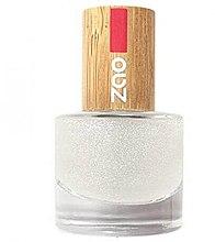 Parfumuri și produse cosmetice Fixator pentru unghii, cu sclipici - Zao Top Coat Glitter