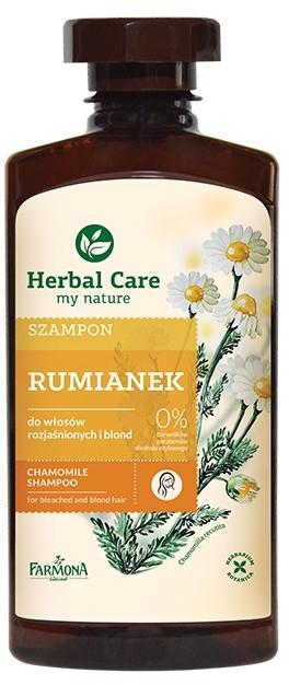 "Șampon ""Mușețel"" - Farmona Herbal Care Chamomile Shampoo — Imagine N1"
