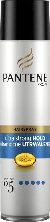 Lac de păr cu fixare foarte puternică - Pantene Pro-V Ultra Strong Hold Hair Spray