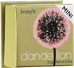 Parfumuri și produse cosmetice Fard de obraz - Benefit Dandelion Blush Powder (mini)