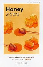 Parfumuri și produse cosmetice Mască nutritivă din țesătură pentru față - Missha Airy Fit Sheet Mask Honey