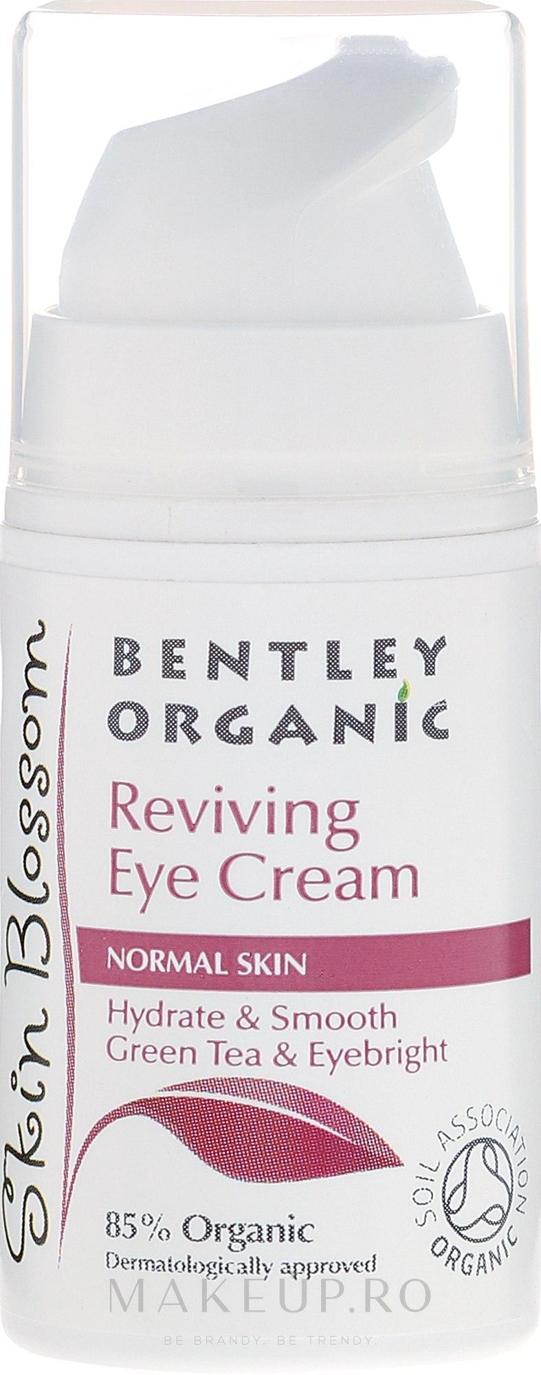 Cremă pentru pielea din jurul ochilor - Bentley Organic Skin Blossom Reviving Eye Cream — Imagine 15 ml