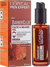 Parfumuri și produse cosmetice Ulei pentru barbă - L'Oreal Paris Men Expert Barber Club Long Beard + Skin Oil