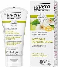 """Parfumuri și produse cosmetice Cremă de față """"Ceai verde"""" - Lavera Mattifying Balancing Cream Green Tea"""