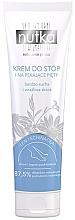 Parfumuri și produse cosmetice Cremă pentru picioare, pentru pielea foarte uscată și sensibilă - Nutka