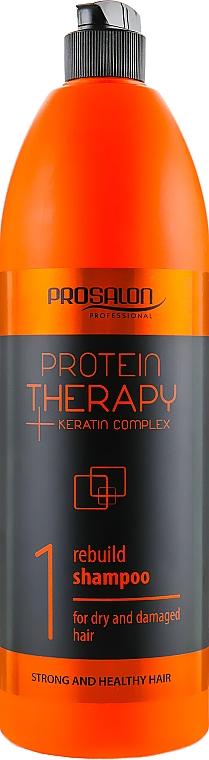 Șampon fără sulfat pentru păr - Prosalon Protein Therapy + Keratin Complex Rebuild Shampoo — Imagine N3