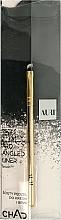 Parfumuri și produse cosmetice Pensulă pentru sprâncene, 210 - Auri Chad Pro Angled Liner Brush
