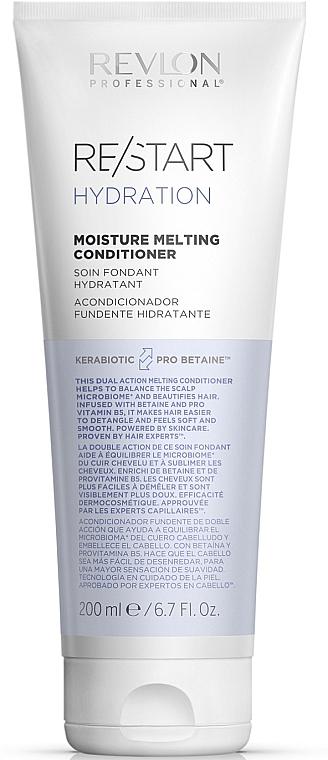 Balsam pentru hidratarea părului - Revlon Professional Restart Hydration Moisture Melting Conditioner — Imagine N1