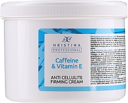 Parfumuri și produse cosmetice Cremă anticelulitică cu cofeină și vitamina E - Hristina Professional Anti Cellulite Firming Cream Caffeine & Vitamin E