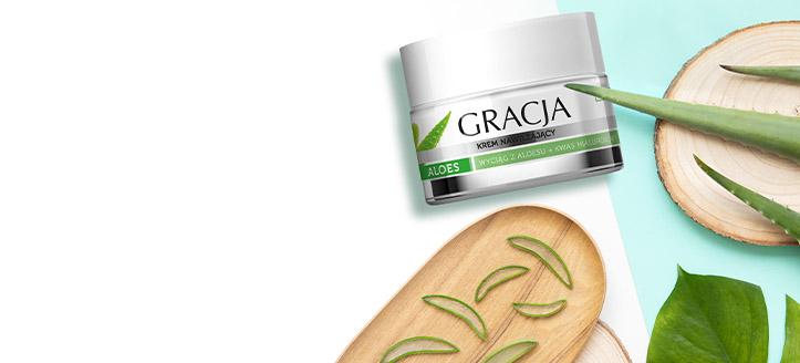 La achiziționarea produselor Gracja începând cu suma de 38 RON, primești cadou o cremă hidratantă