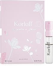 Parfumuri și produse cosmetice Korloff Paris Un Jardin A Paris - Apă de parfum (tester)